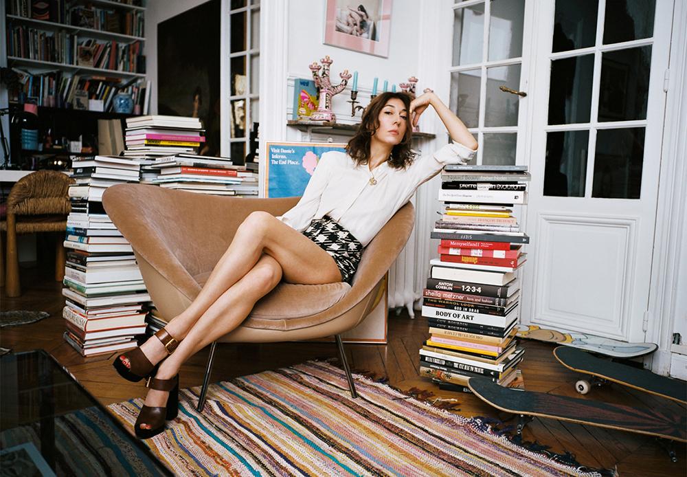 Camille Bidault-Waddington, Photo courtesy of Molteni,©Olivier Zahm