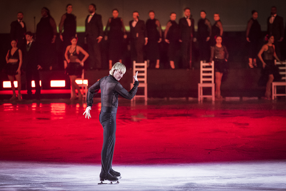 Solo Figure Skaters - Plushenko, Photo courtesy of Intimissimi