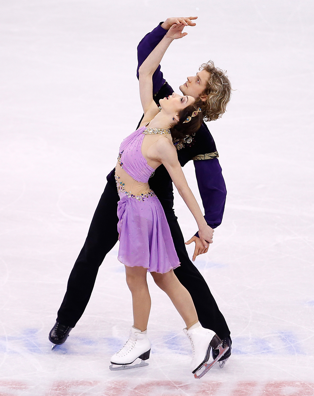 Duo Figure Skaters - Meryl Davis & Charlie White, Photo courtesy of Intimissimi