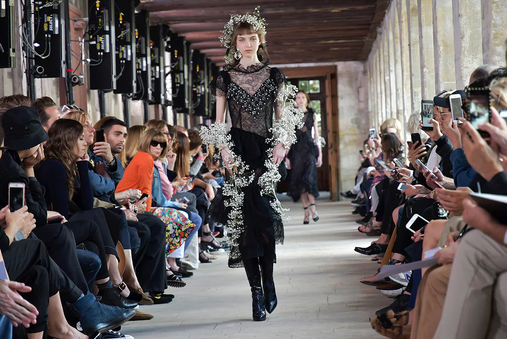The Rodarte show. Photograph: Swan Gallet/WWD/REX/Shutterstock. Photo courtesy of The Guardian
