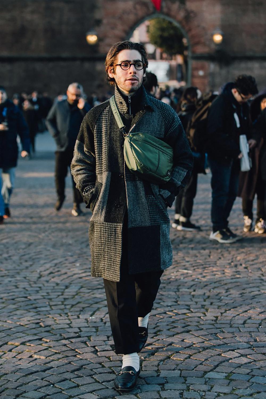 Street Style From Pitti Uomo © Dan Roberts