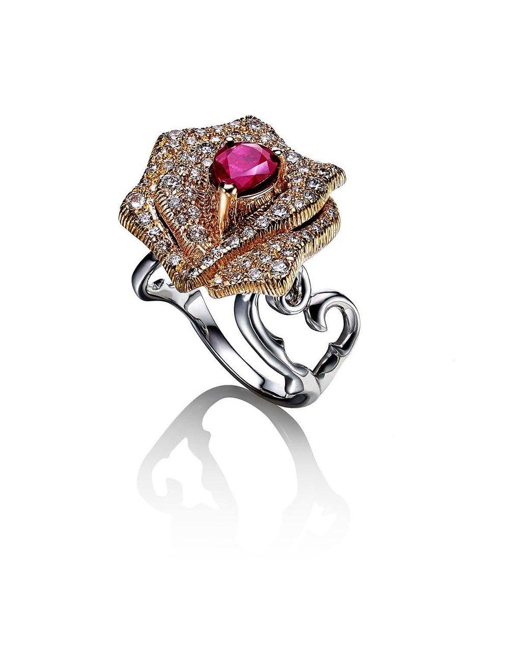 Dannini Victoria Rose Ring