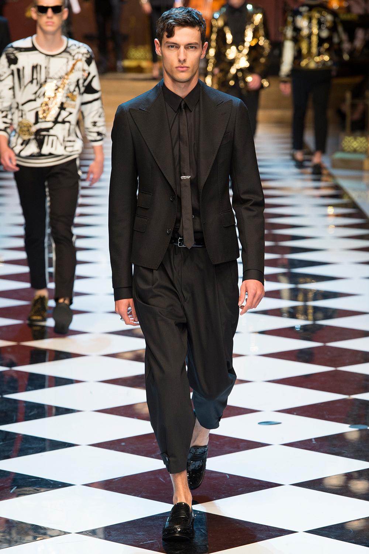 Spring 2017 Menswear, Dolce&Gabbana