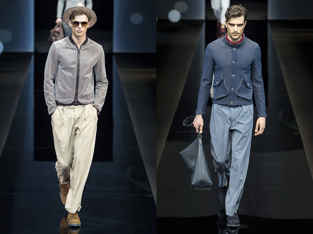 Spring 2017 Menswear, Armani