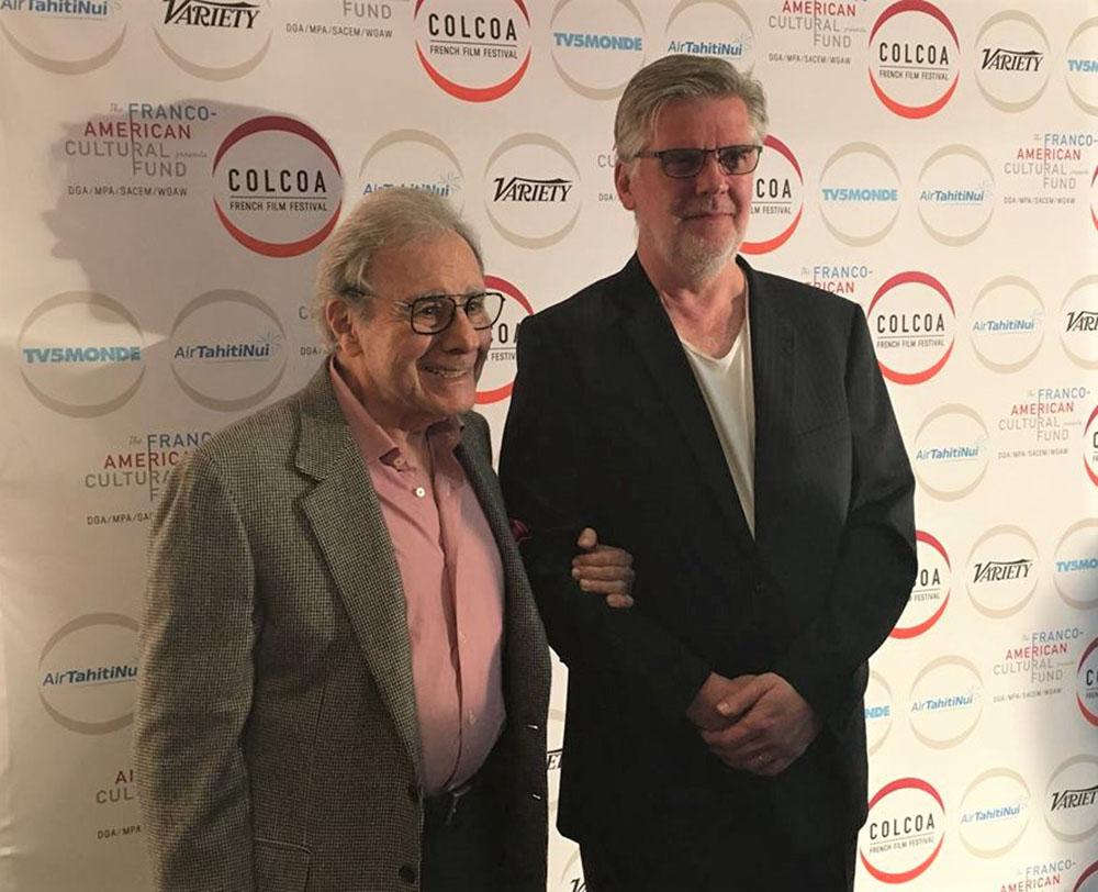 Lalo Schifrin and Composer Jean-Michel Bernard, Photos courtesy of COLCOA