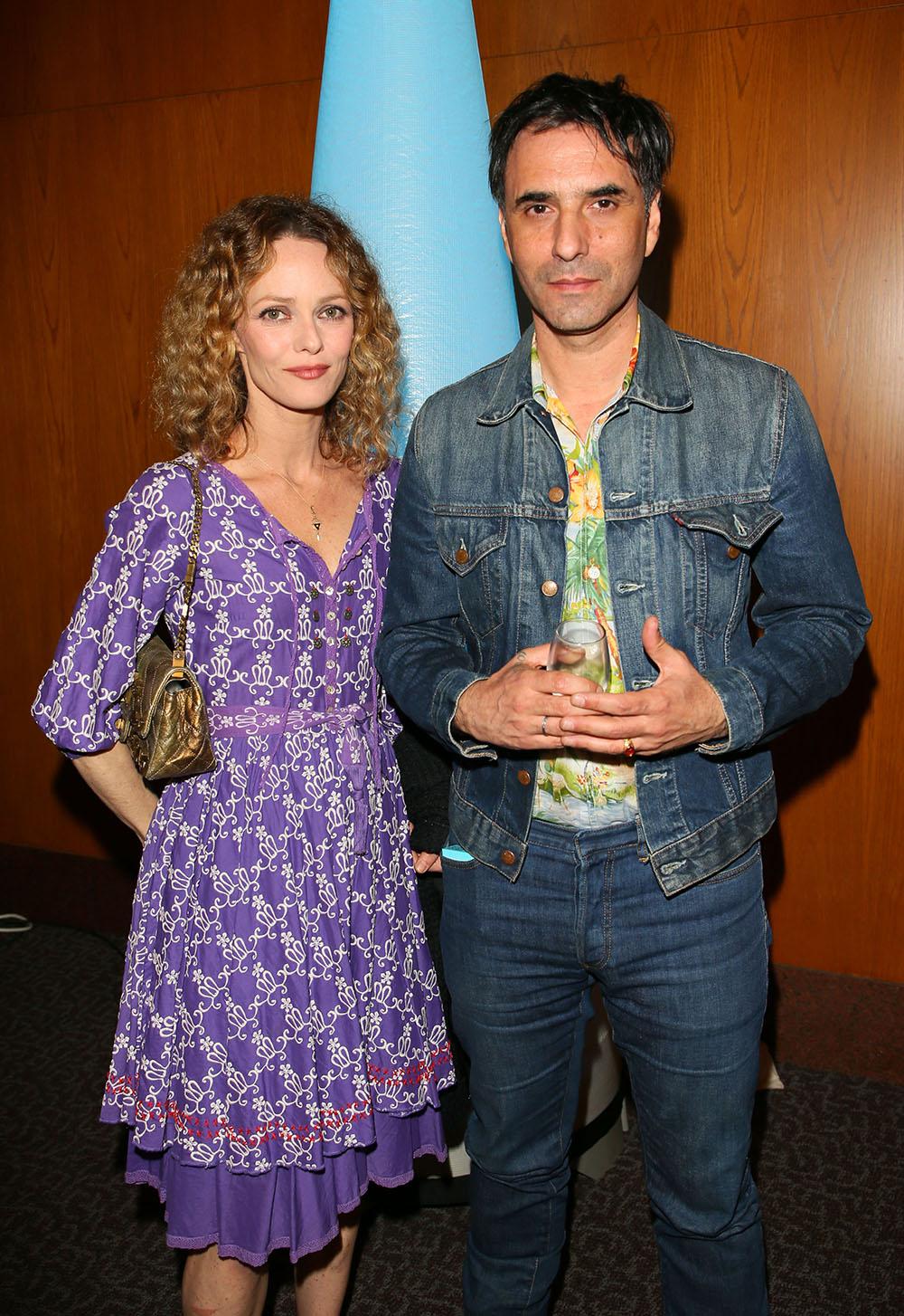 Vanessa Paradis and Samuel Benchetrit, Photos courtesy of COLCOA