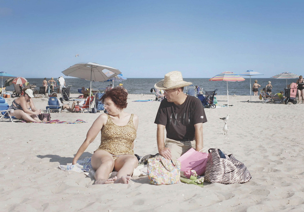 Dina Buno and Scott Levin appear in Dina  by Dan Sickles and Antonio Santini Courtesy of Sundance Institute