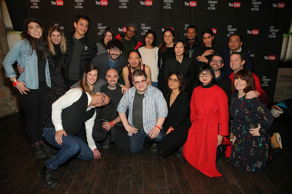 Sundance Film Festival Director John Cooper, programmers Short Film jurors and award winners  Photo by Jemal Countess