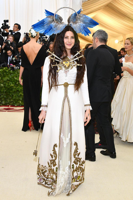 Gucci - Lana Del Rey@2018 MetGala