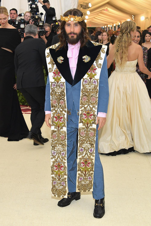 Gucci - Jared Leto@2018 MetGala