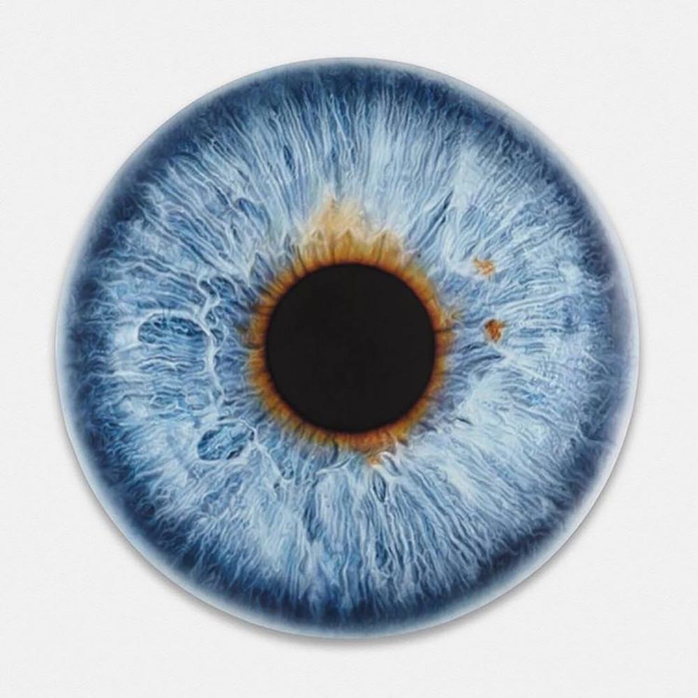 Marc Quinn, Leonardo DiCaprio's Eye, 2016,Photo courtesy of De-Pury.com