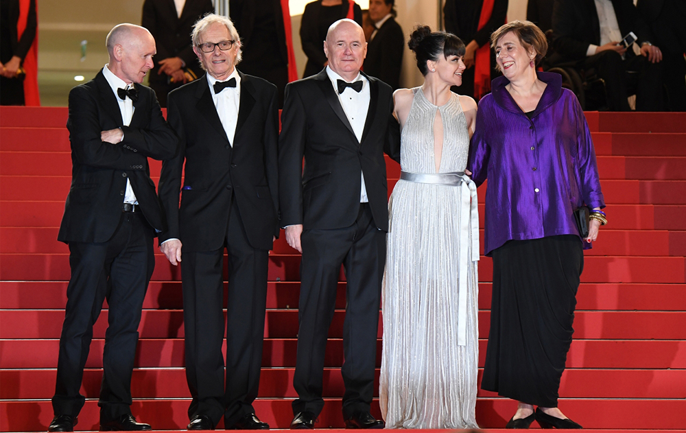 Team of the film - I, Daniel Blake  © Anne-Christine Poujoulat / AFP