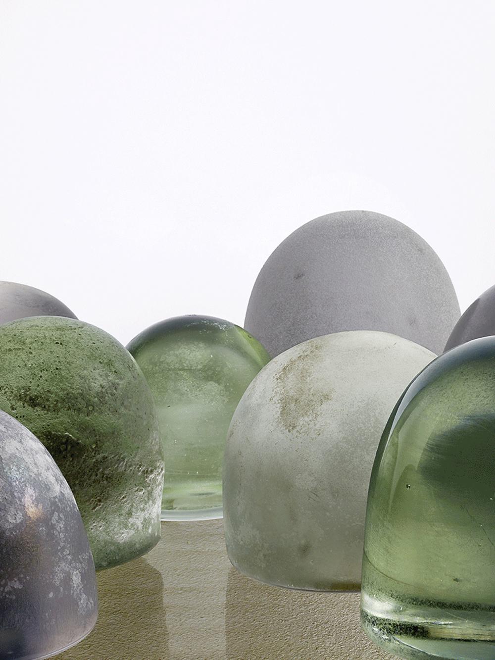 © Marie Clérin / Laffanour Galerie Downtown, Paris Robert Wilson, Glass Works