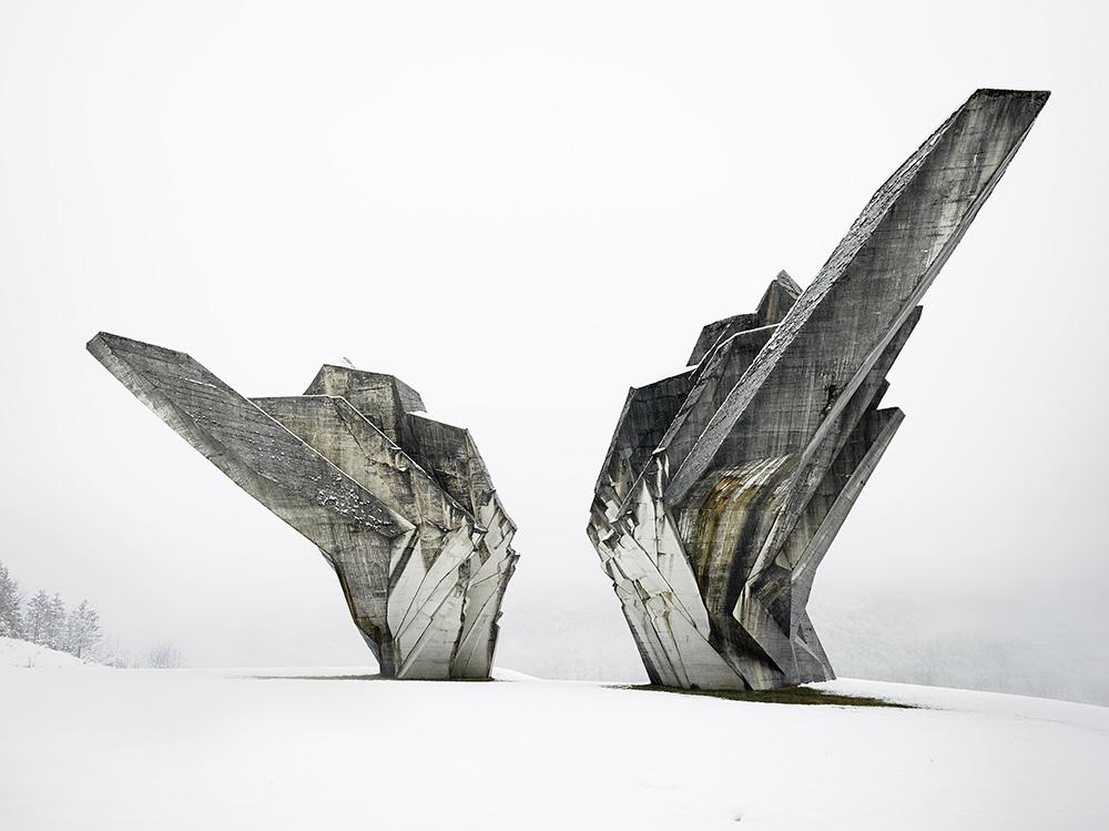 Miodrag Živković and Đorđe Zloković, Monument to the Battle of the Sutjeska, 1965-71, Tjentište, Bosnia and Herzegovina. Photo: Valentin Jeck, 2016, commissioned by the Museum of Modern Art.