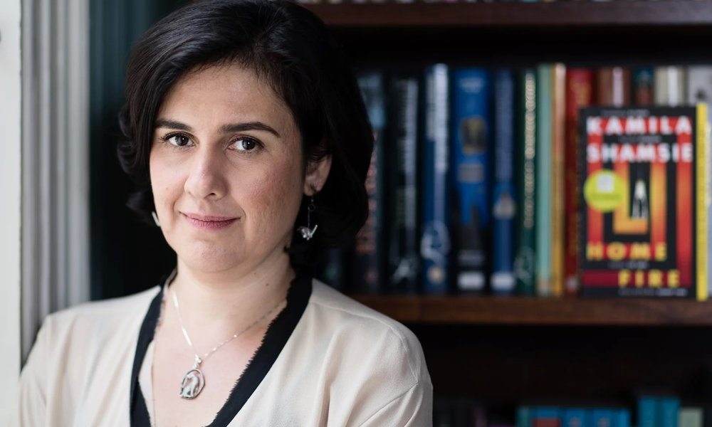 Kamila Shamsie: 'A lot of books by male writers are only interested in the lives of men.' Photograph: Teri Pengilley for the Guardian