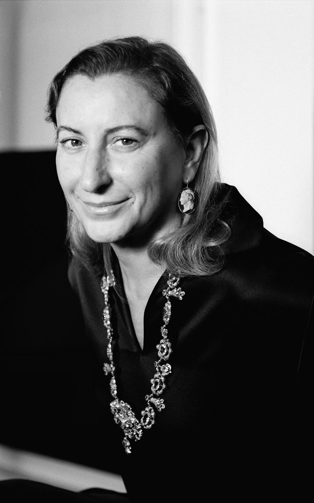 Miuccia Prada CREDIT BRIGITTE LACOMBE