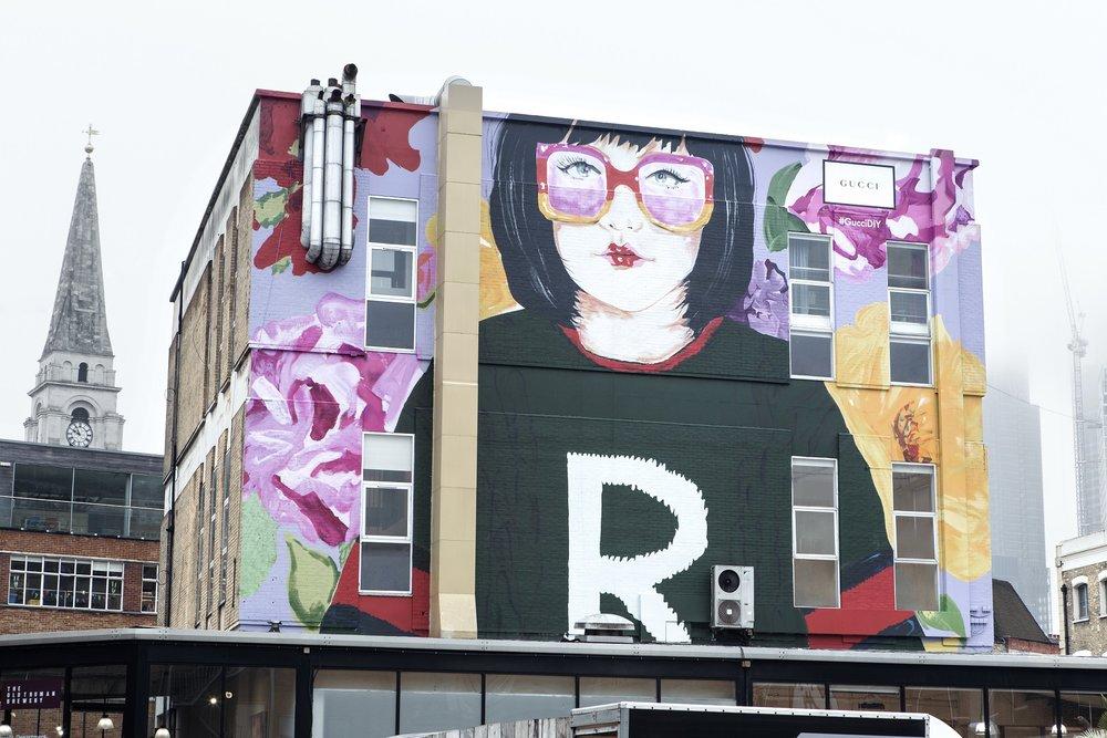 Gucci ArtWall DIY London_Courtesy of Samuel Keyte
