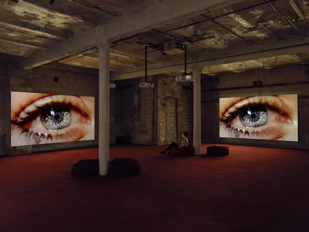 """Marianna Simnett: Blood In My Milk,"" 2018. Exhibition view: New Museum, New York. Photo: Maris Hutchinson / EPW Studio"