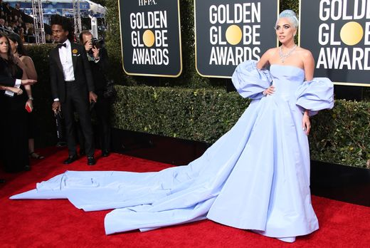 Lady Gaga arrives on the 76th Annual Golden Globe Awards red carpet, Jan. 6, 2019, at The Beverly Hilton Hotel. Dan MacMedan/USA TODAY NETWORK