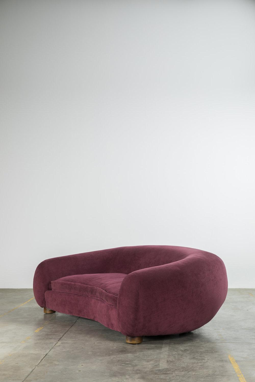"""Jean Royère (1902-1981)  """"Polar bear"""" sofa, Ca. 1947"""