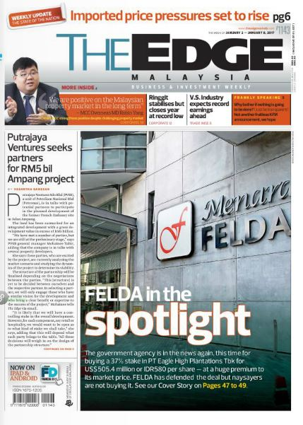 plantation corporate news more headlines for felda fgv land deals
