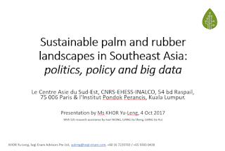 Palm Oil Blog — Khor Reports