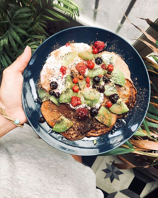 Pancakes anyone? 🥞 Start your Monday right! 🙌🏼😋 #breakfast #pancakes #mondays