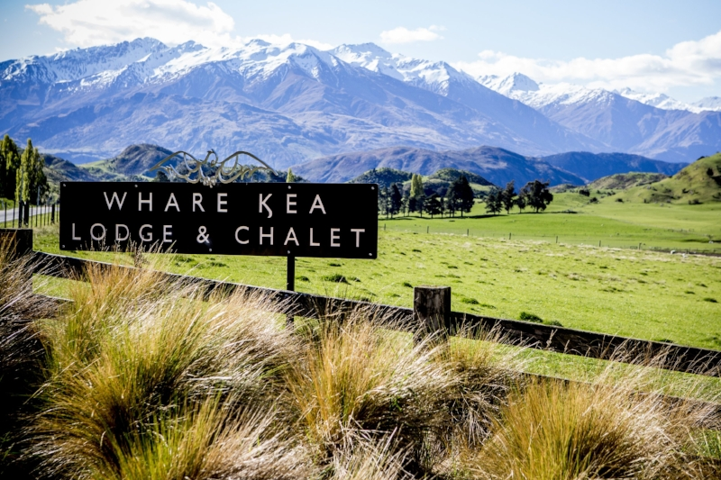 Whare Kea Lodge sign at the driveway entrance.jpg