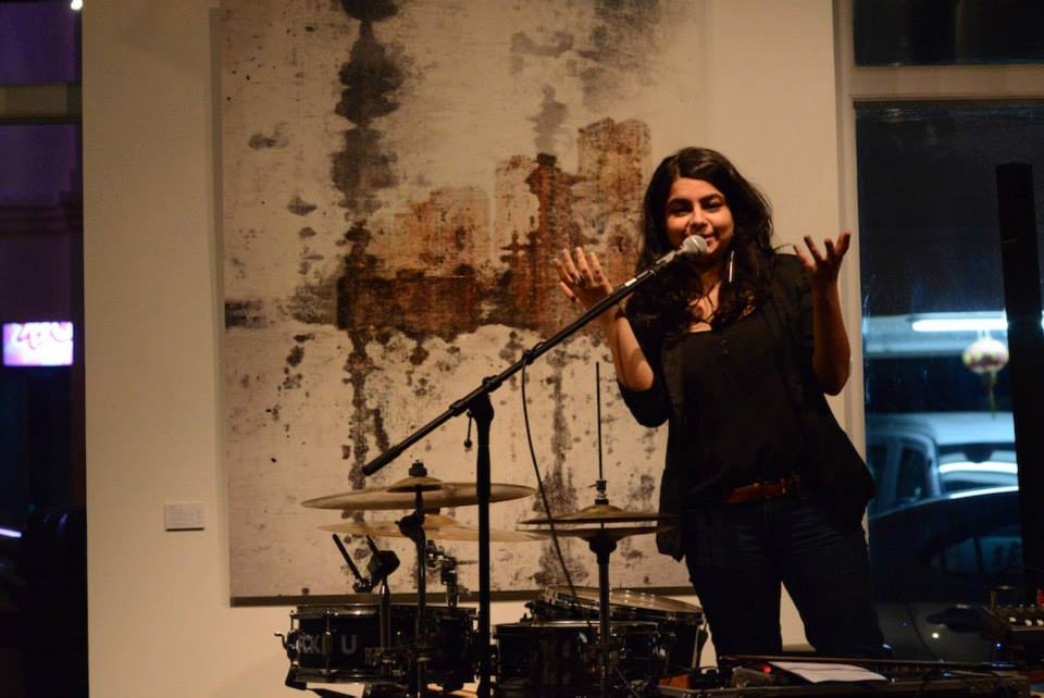 From April 2013 to March 2018, Pooja ran and curated the monthly poetry showcase Speakeasy at the dining and art space Artistry. Its final edition,