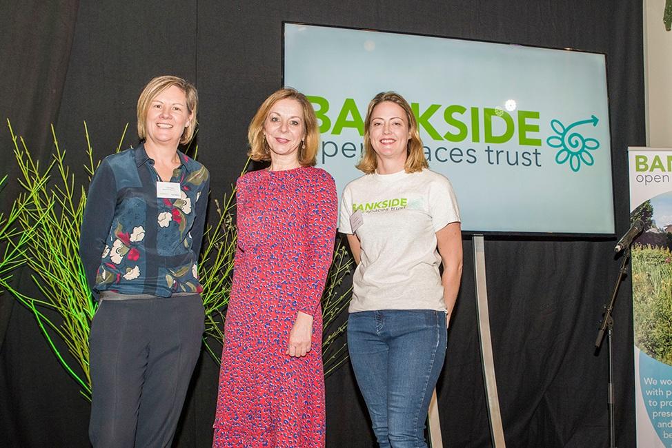 BOST CEO Charlotte Gilsenan with Jo Thompson and Future Gardner leader Lousia Mansfield web.jpg