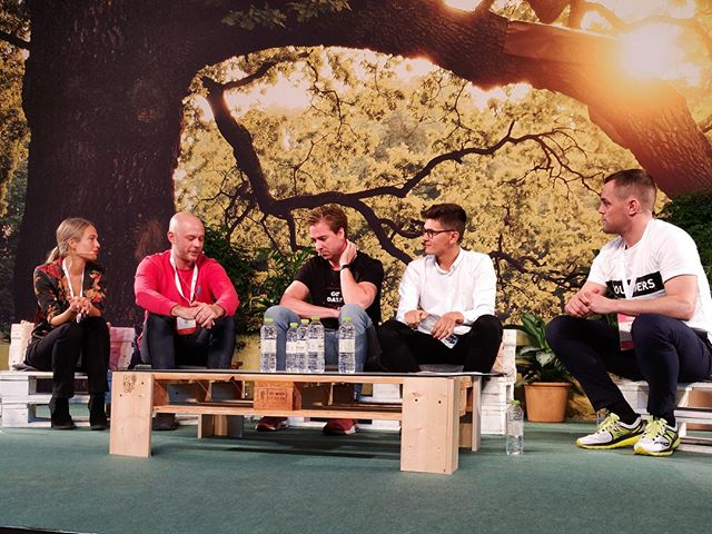 """Growth can both benefit and harm a company, it challenges us to bring good communication to our users"" find out more with the growth of tomorrow discussion here at #techbbq"