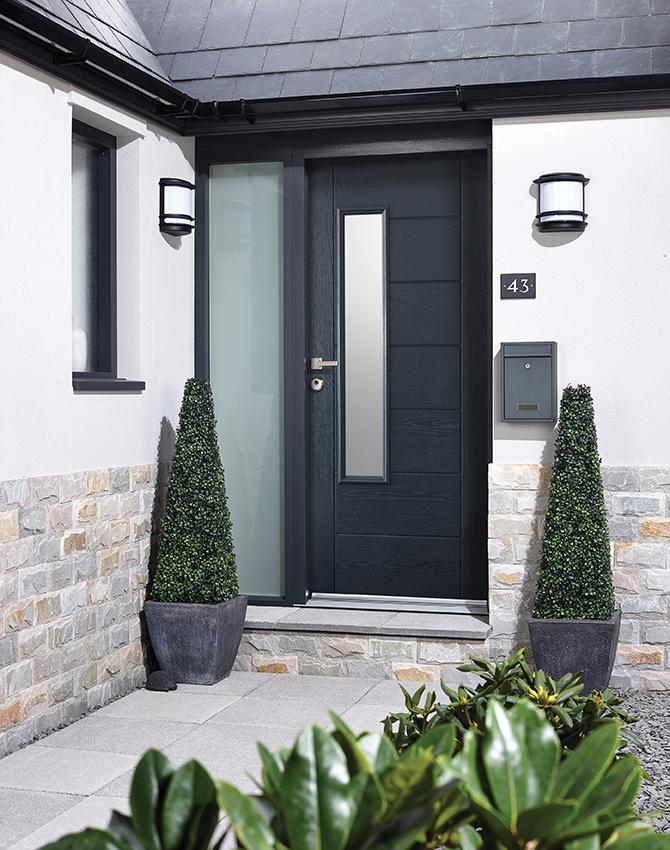 Newbury 1 Light Glazed Door