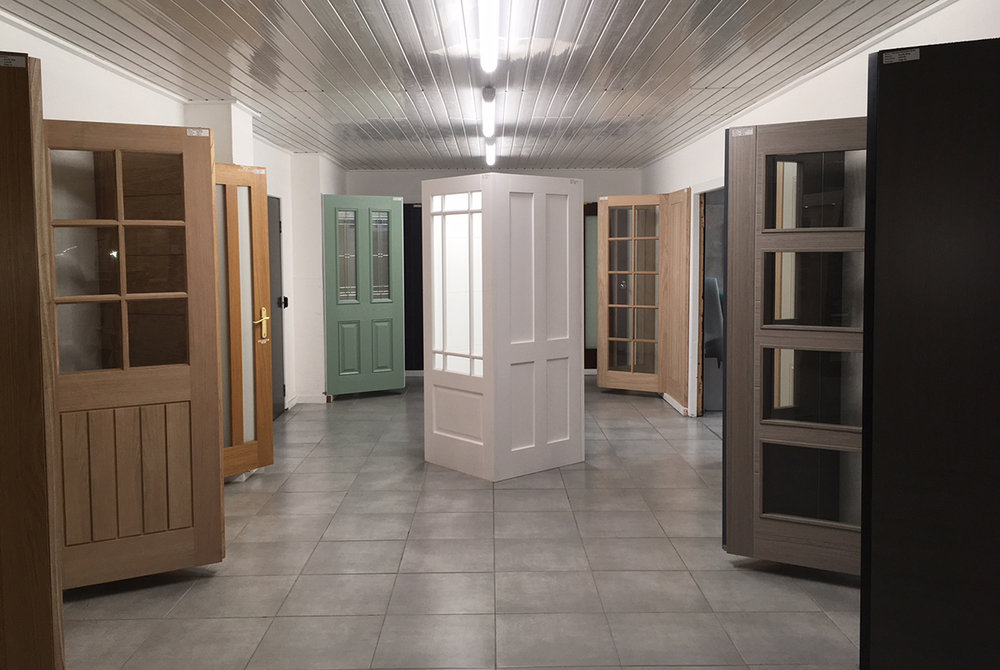 Interior and Exterior Doors at our Bootle Showroom
