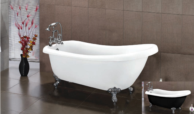 Victoria Freestanding Slipper Bath