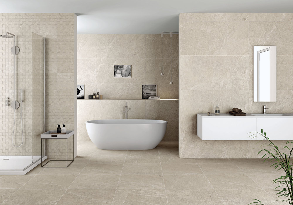 Natural Beige Porcelain Tiles