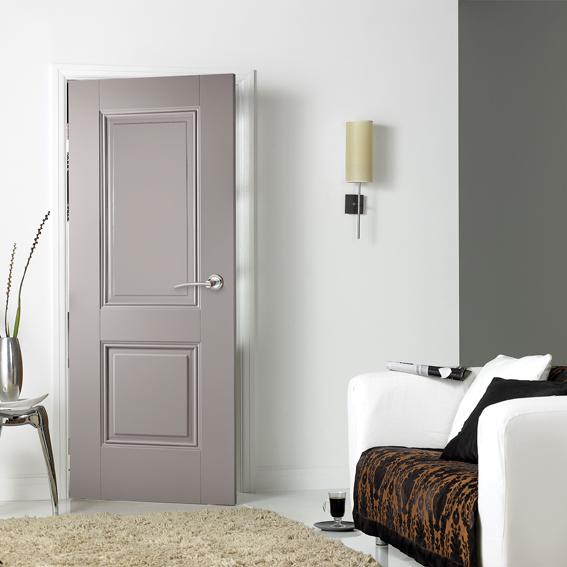Grey Interior Primed Plus Doors