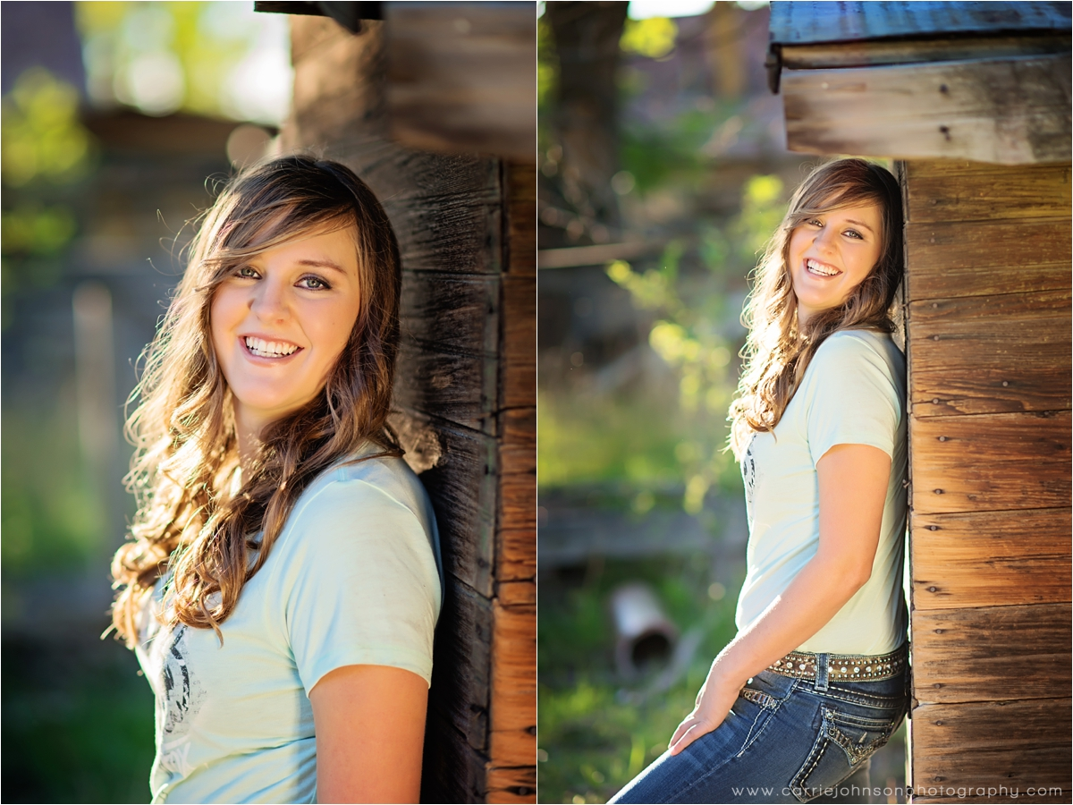 fruita colorado senior photographer