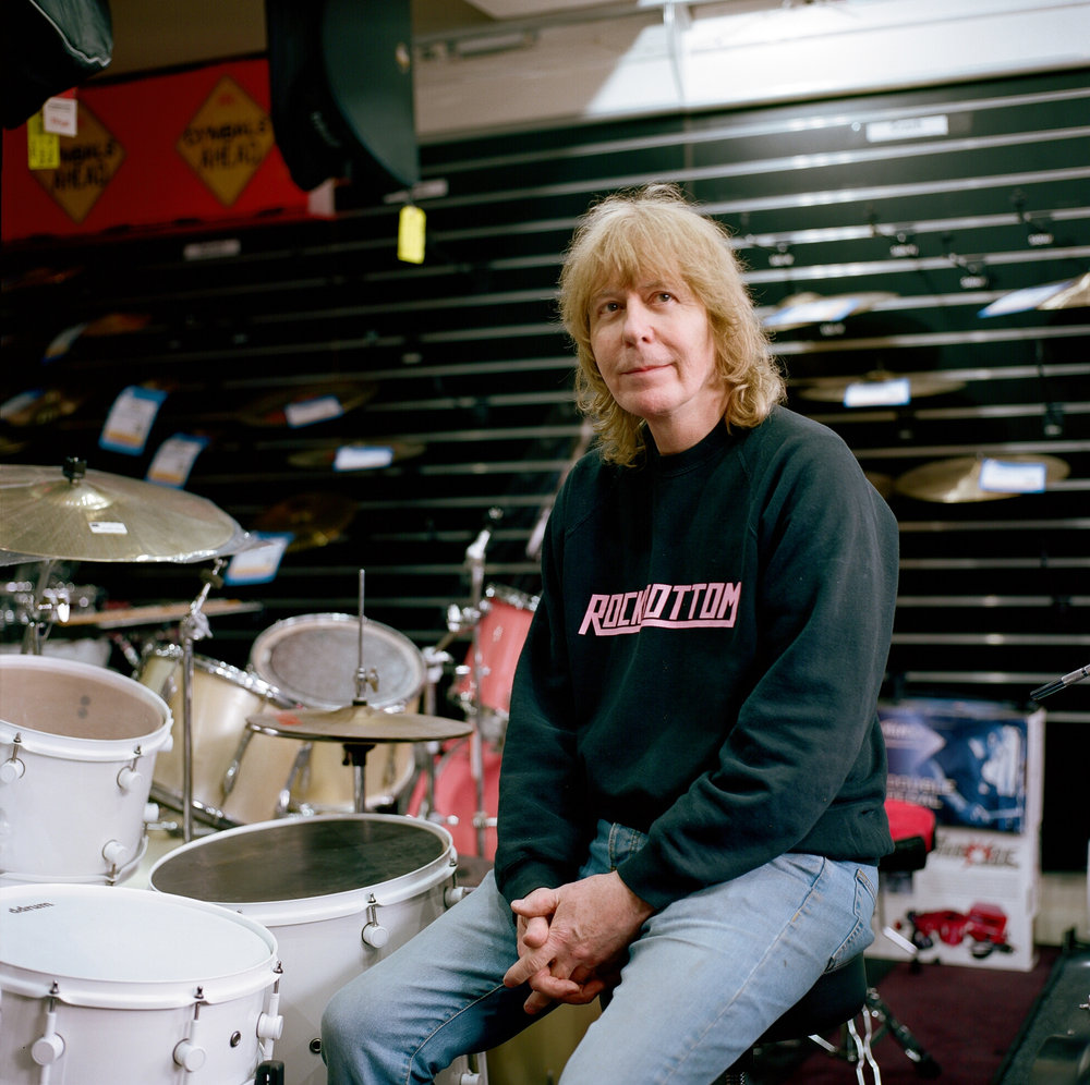 Carl, Rockbottom Music Owner