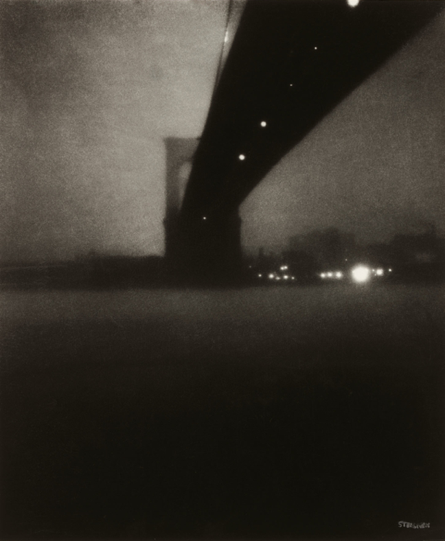 Edward Steichen –   Brooklyn Bridge , 1903