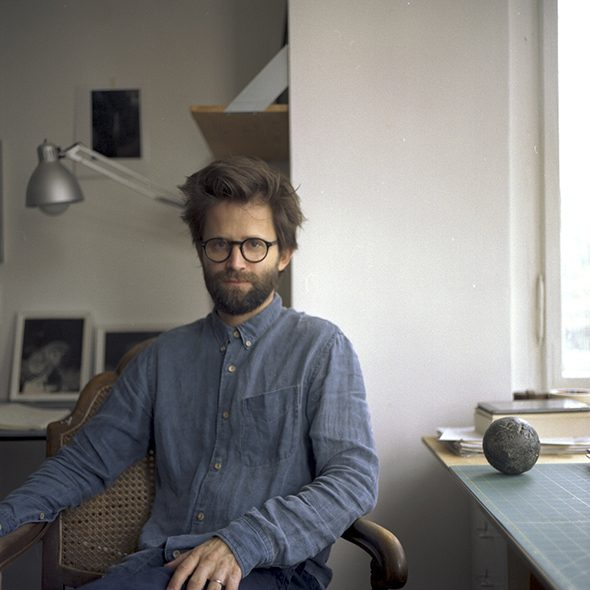 Conor Clark:  Studio Visit. Daniel Gustav Cramer,  5th November, 2015
