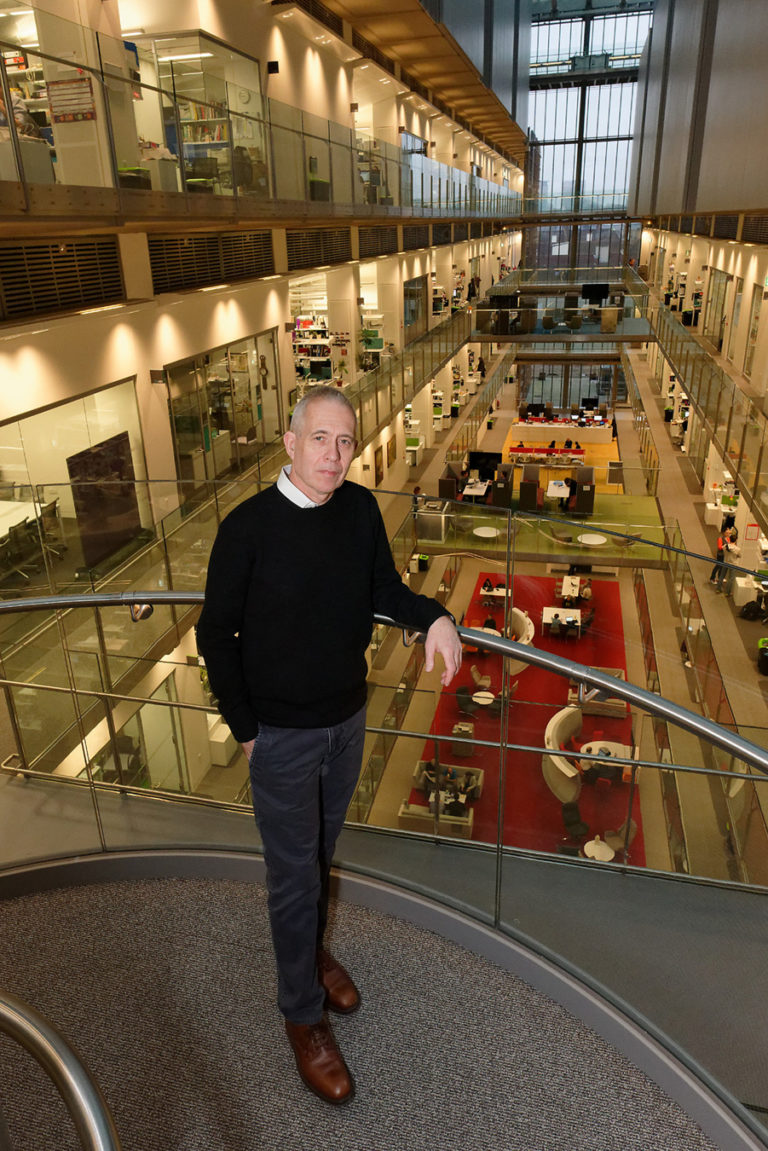 Graham Land:  Jim Smith at the Francis Crick Research Institute , London, January, 2018