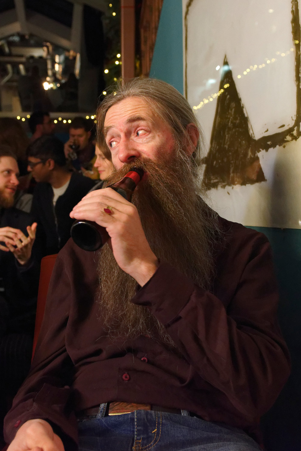 Aubrey de Grey, November, 2017