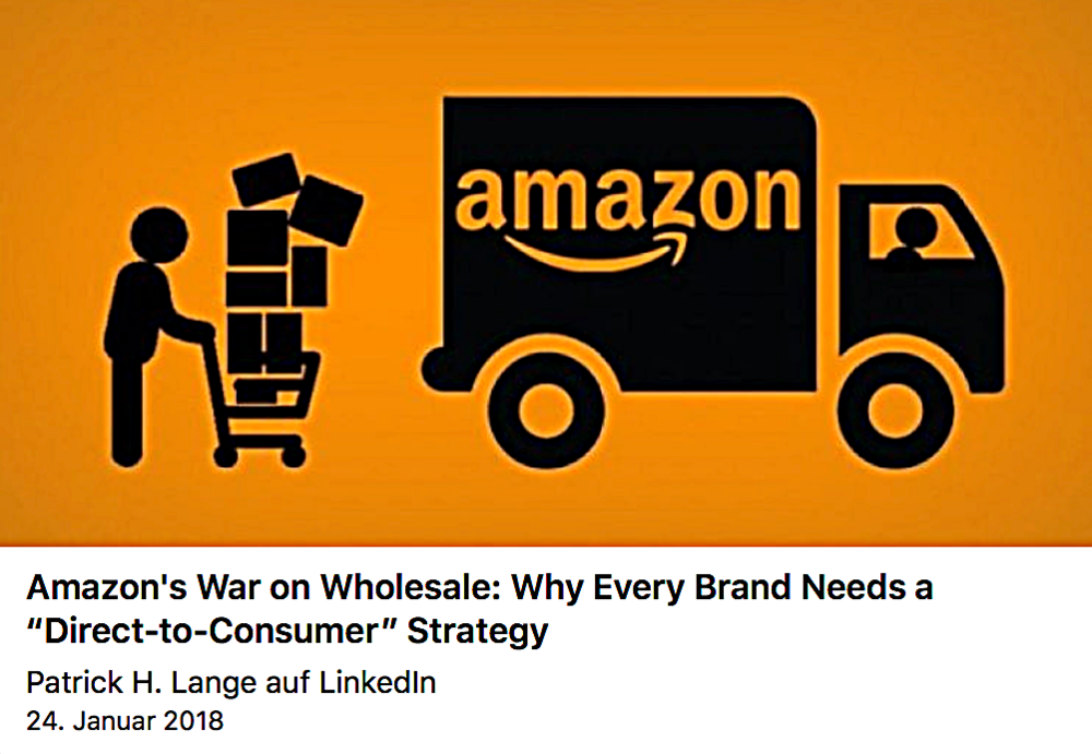 Amazons War of Wholesale