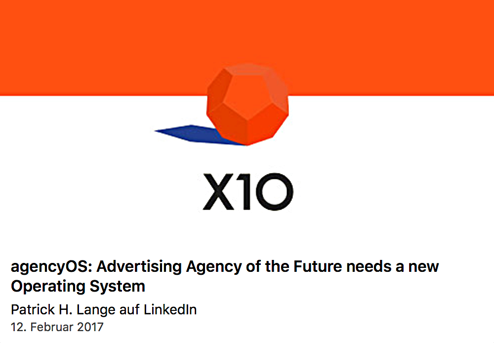 agencyOS: advertising agency of the future needs a new Operating System