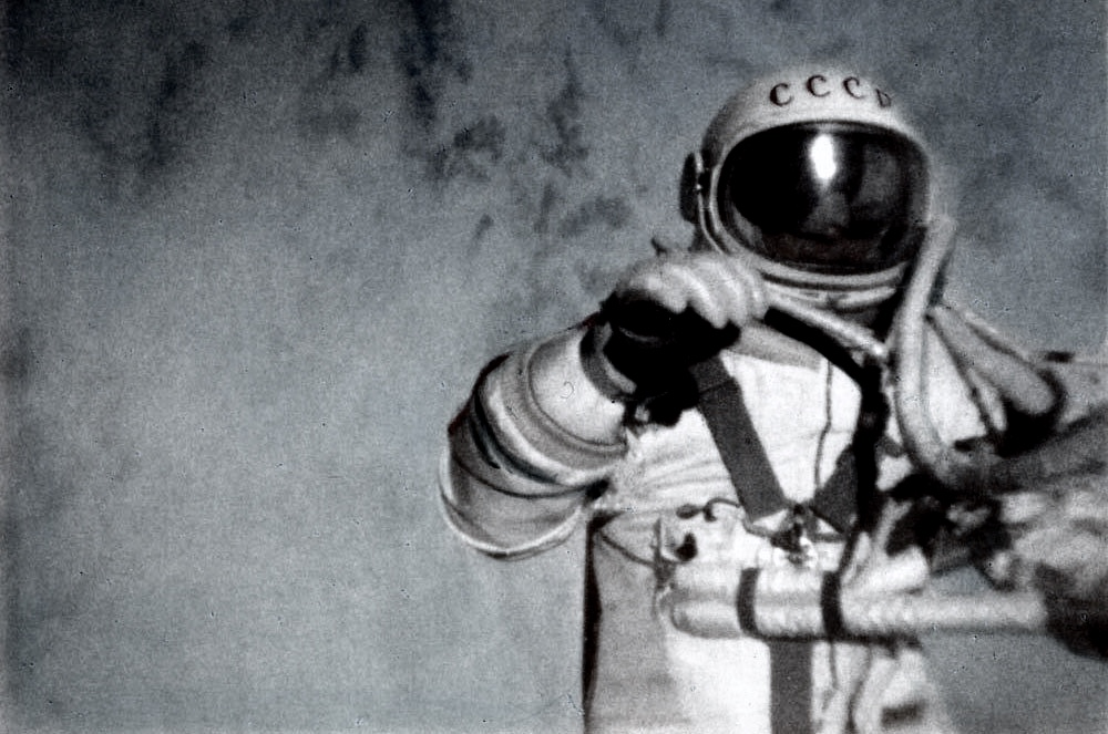 Invisible to the world, silently moving at 17,000 miles per hour, a cosmonaut was dying. -