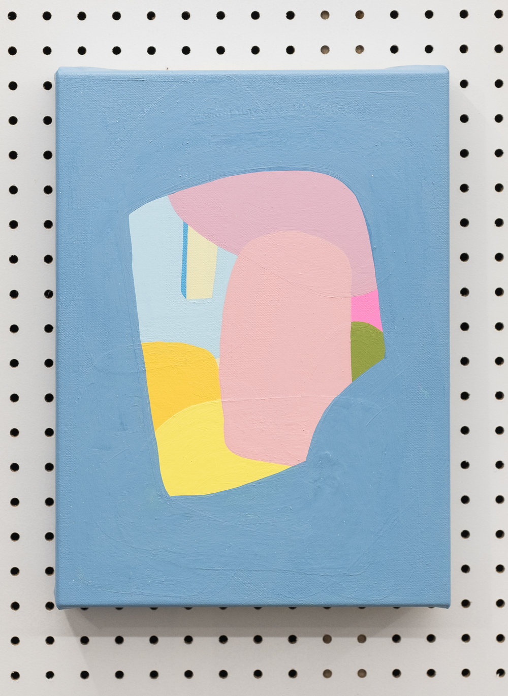 Jeanie Riddle. Small Paint Case, 2018. 15 x 11 in Acrylic on canvas. [Photo by Morgane Clément-Gagnon]