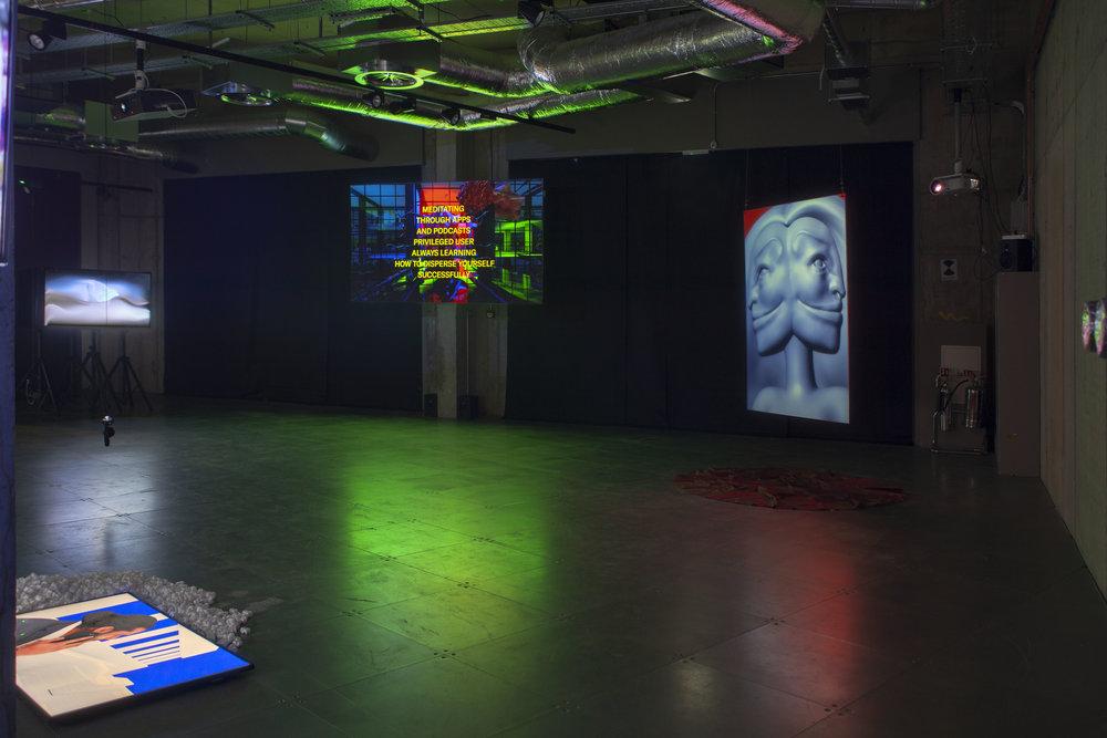 RE-FIGURE-GROUND installation view