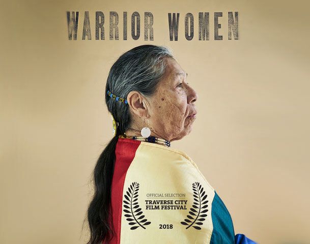Warrior Women was shown in the State Theatre at the 2018 Traverse City Film Festival