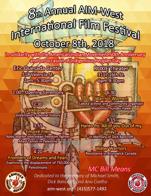 Warrior Women was featured at the 8th AIM-West International Film Festival
