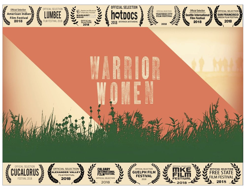A sampling of the film festivals Warrior Women has screened at so far